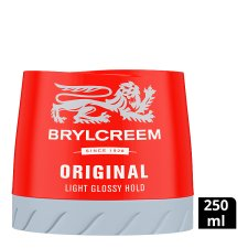 Brylcreem Light Glossy Hold Wax 250Ml