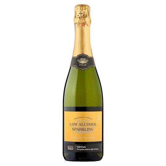 Tesco Low Alcohol Sparkling White Wine 75Cl