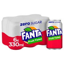 Fanta Fruit Twist Zero 6X330ml