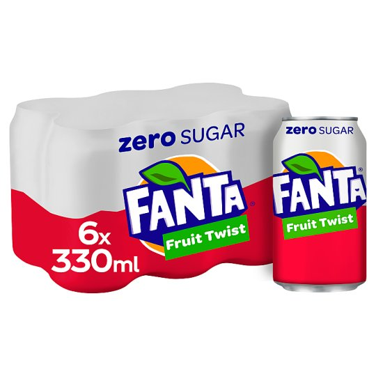 image 1 of Fanta Fruit Twist Zero 6X330ml