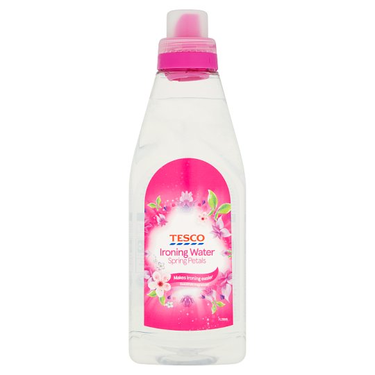 Tesco Ironing Water Spring Petals 1 Litre