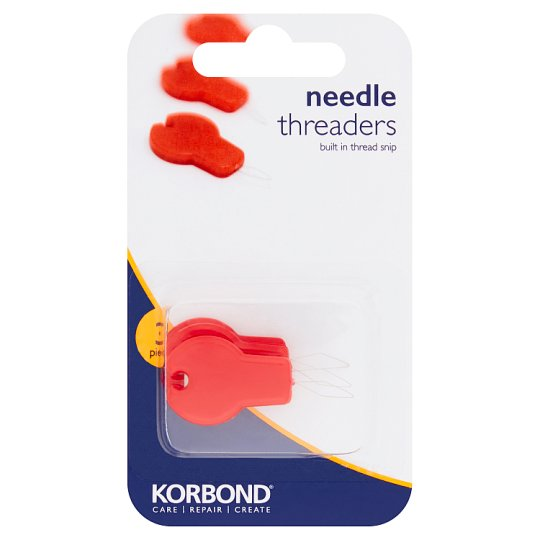 Needle Threaders With Cutter 3Pcs