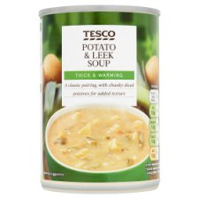 Tesco Potato And Leek Soup 400G