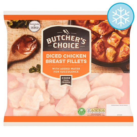 Butchers Choice Diced Chicken Breast 850G