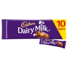 Cadbury Dairy Milk 10 Pack 293G