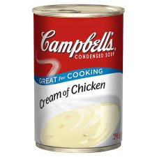 Campbell's Cream Of Chicken Condensed Soup 295G