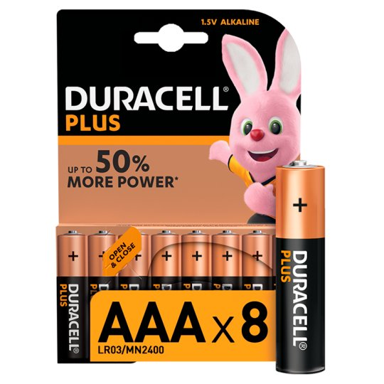 Duracell Plus Aaa 8 Pack