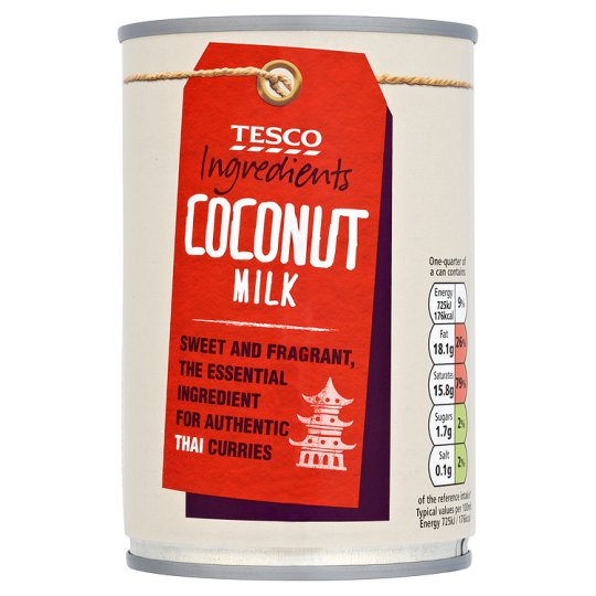 Tesco Ingredient Coconut Milk 400Ml