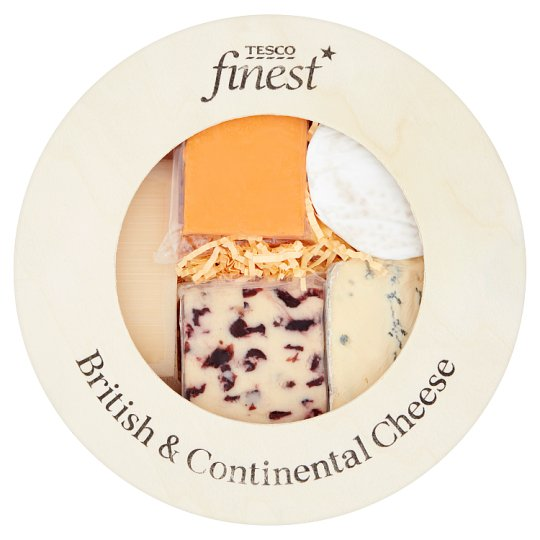 Tesco Finest Cheese Box Selection 620G