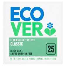 Ecover Dishwasher Tablets 25 Pack/500G