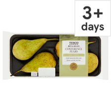 Tesco Perfectly Ripe Conference Minimum 4 Pack Pear