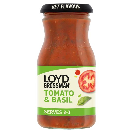Loyd Grossman Tomato And Basil Sauce 350G