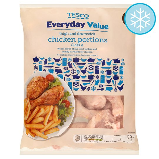 Tesco Everyday Value Chicken Portions 2Kg
