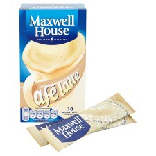 Maxwell House Cafe Latte Coffee 10 Sachets 153G