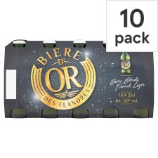 Biere D'or 10 X 250Ml