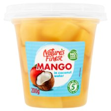 Natures Finest Mango In Coconut Water 200G
