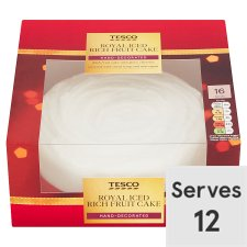 Tesco Royal Iced Fruit Cake 907G