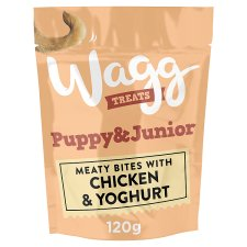 Wagg Puppy And Junior Treats 120G