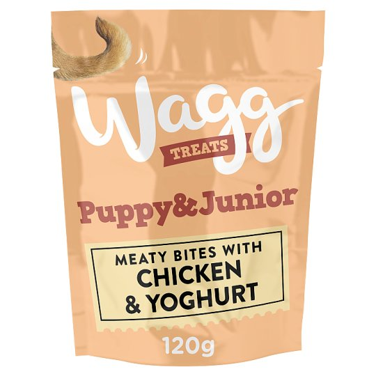 image 1 of Wagg Puppy And Junior Treats 120G