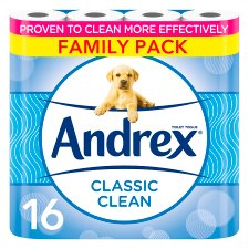 Andrex Toilet Tissue 16 Roll White