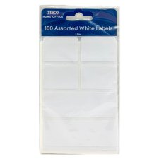 Tesco Assorted White Labels