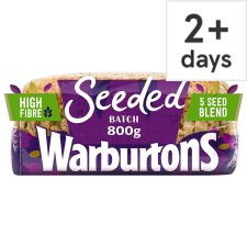 Warburtons Seeded Batch Bread 800G