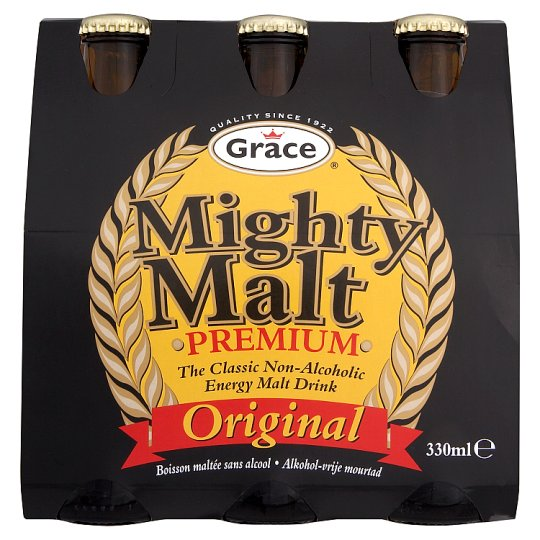 Grace Mighty Malt Drink 6 X 330Ml