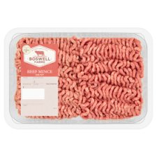 Boswell Farms Beef Mince 1Kg 20% Fat