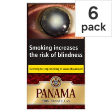 Panama Thin Panatellas 6 Pack