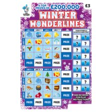 Winter Wonder Scratchcard