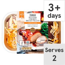 Tesco 2 Hunters Chicken Breasts 430G