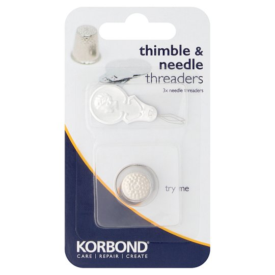Korbond Thimble And Needle Threaders