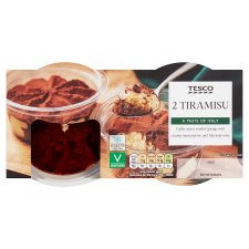 Tesco Tiramisu 2X85g