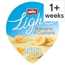 Muller Light Banana Custard Yogurt 160G