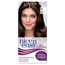 Nice'n Easy No Ammonia Medium Ash Brown 77 Hair Dye