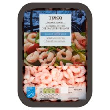 Tesco Cooked And Peeled Prawns 200G
