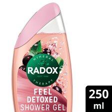 Radox Feel Detoxed Shower Gel 250Ml