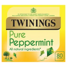 Twinings Peppermint 80 Tea Bags 160G