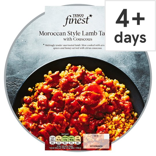 Tesco Finest Lamb Tagine And Couscous 450G