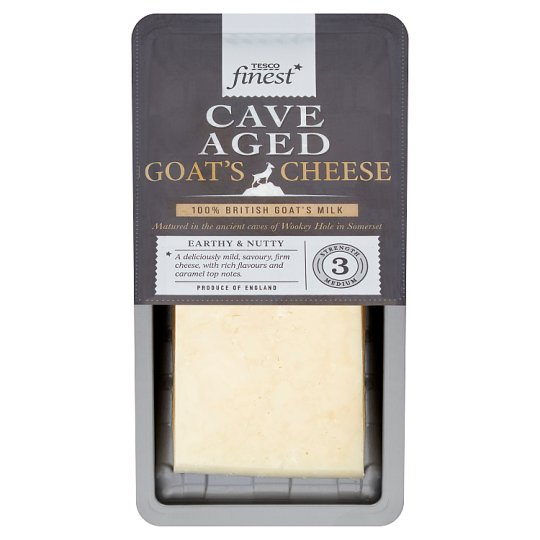 Tesco Finest Cave Aged Goat Cheese 200G