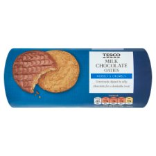 Tesco Chocolate Oaties Biscuits 300G