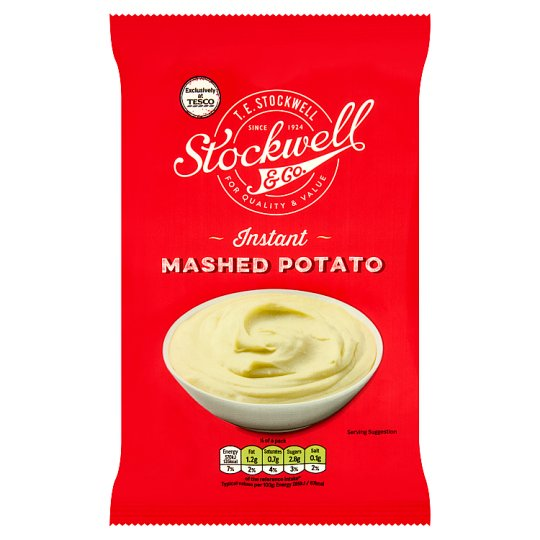 Stockwell And Co Instant Mashed Potatoes 120G