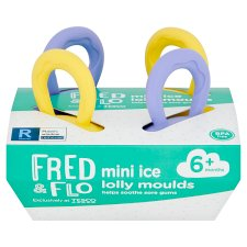 Fred & Flo Baby Ice Lolly Moulds 4 Pack