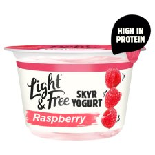 Light And Free Skyr Raspberry Yogurt 150G