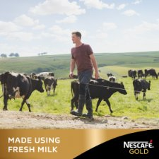 image 3 of Nescafe Gold Vanilla Latte Coffee 8 X 18.5G