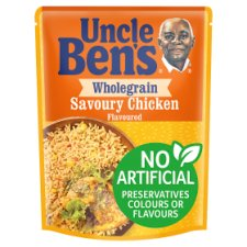 Uncle Bens Microwave Express Wholegrain Savoury Chicken Rice 250G