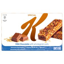 Special K Milk Chocolate Bars 5X27g