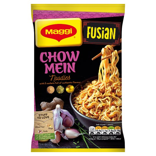 Maggi Fusian Classic Chow Mein Noodles 117G