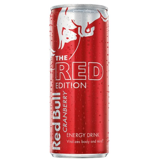 Red Bull Red Edition Energy Cranberry 250Ml