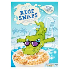 Tesco Rice Snaps Cereal 600G